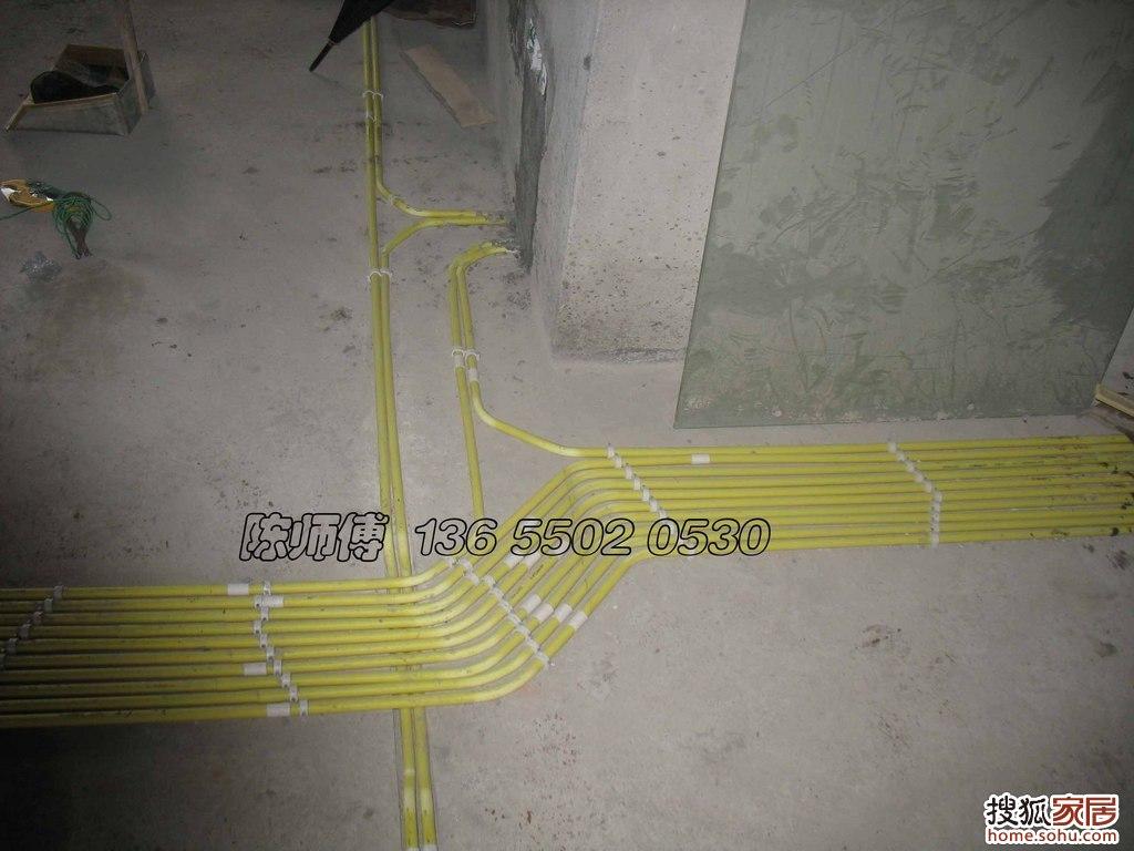 有图有真相 福州装修水电工晒施工图高清图片