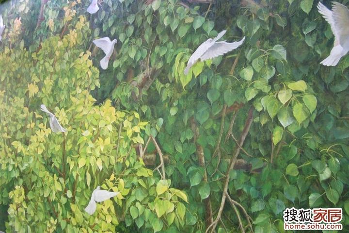 手绘菩提树