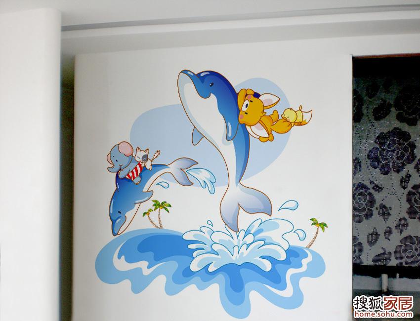 本页主题:图:用手绘墙打造一个孩子的欢乐天地!
