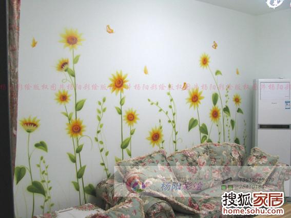喷绘|幼儿园手绘墙 双效壁画 家庭影视厅星空顶 夜光画 顶面宇宙星空