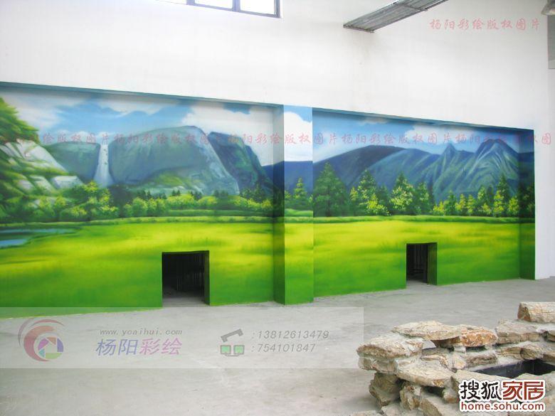 本页主题:图:苏州手绘墙(苏州太湖湿地公园-熊猫馆墙体彩绘)杨阳彩绘
