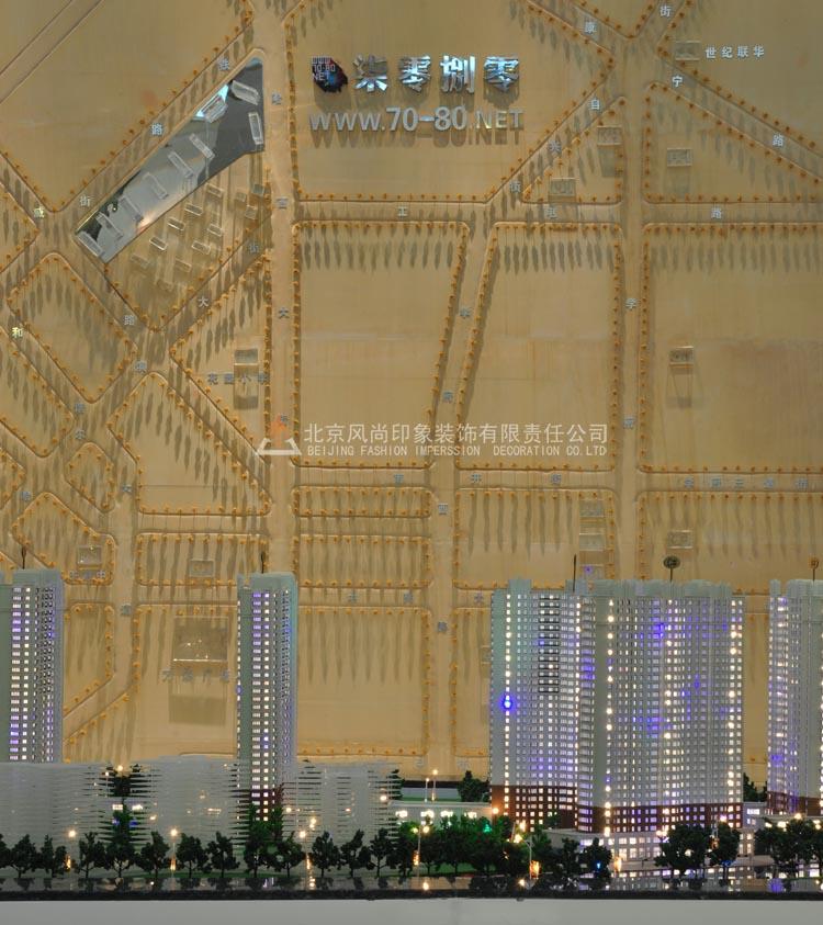 风尚装饰设计公装作品之房产售楼处样板间篇 海南装修集采论坛高清图片