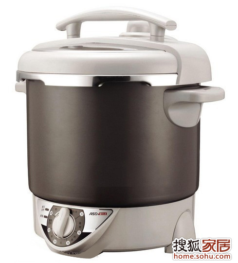 爱仕达黑金钢简易系列电压力锅6l简易机械ap-y6006