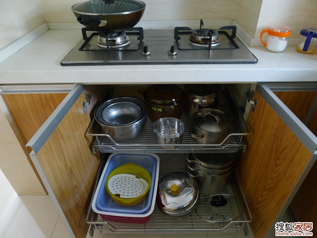 装修一年入住半年,自己一手打造的家 3厨房 餐厅 高清图片