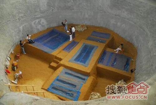 圖:蚌埠市雙墩古墓—喚醒歷史的記憶
