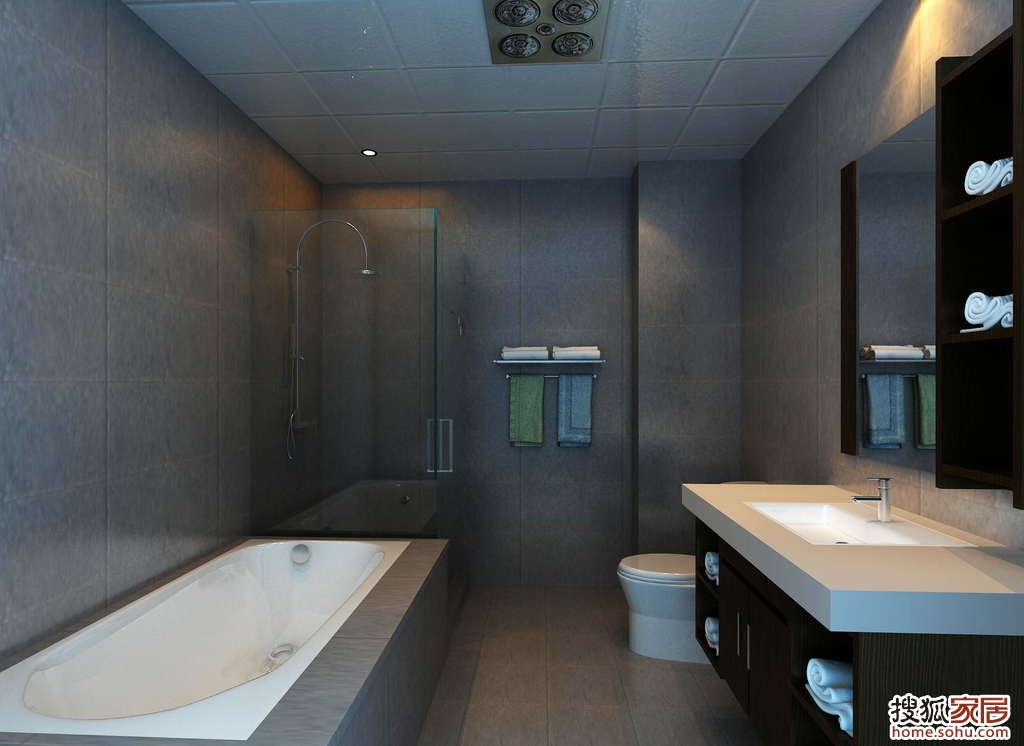 12平米卫生间设计图纸