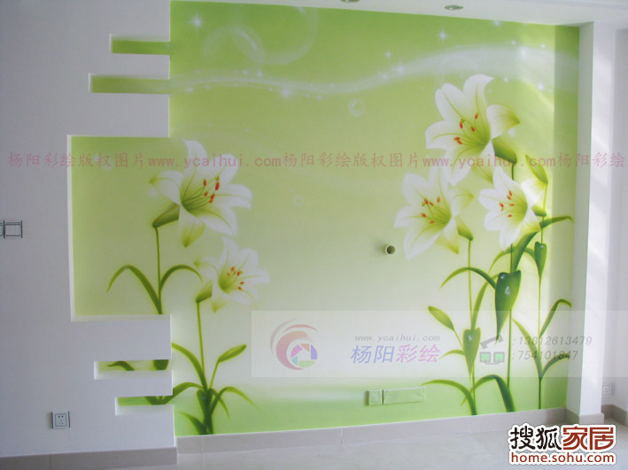 苏州手绘墙