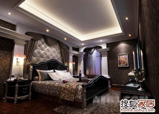 新古典低调的奢华样板间 高清图片