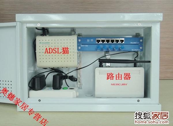 弱电箱里面的简易结构不同,大致下面几种样式