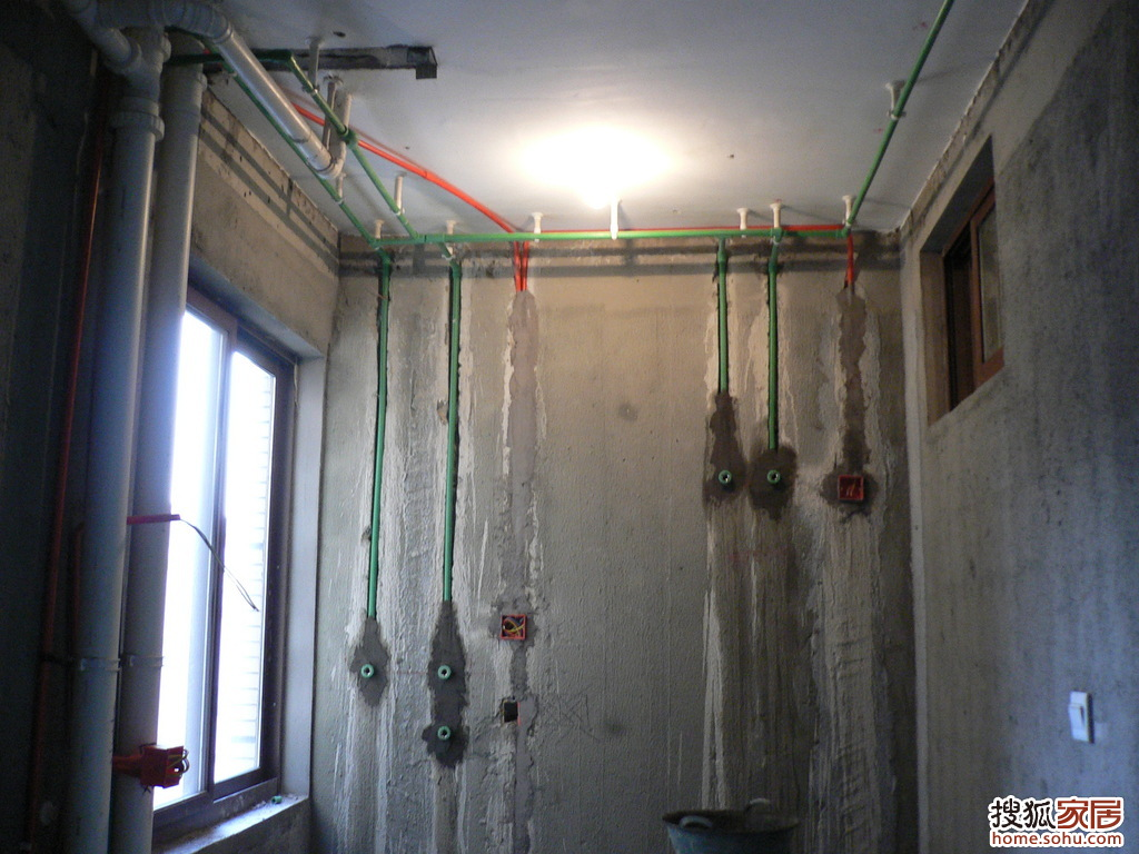 我家的装修开始了 水电篇 2 布线与走水路高清图片