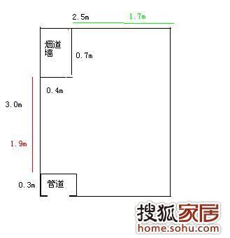 手绘柜子平面图尺寸