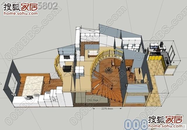 房子装修水电设计图