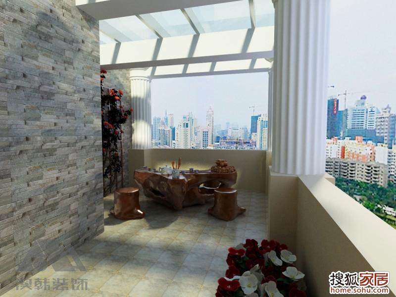 南宁翰林雅筑小区复式楼中楼装修案例,翰林雅筑140㎡楼中楼室内装高清图片