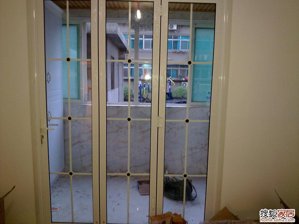 阳台折叠门1-西安装修论坛-搜狐家居网图片