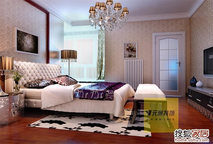 3室160平米简欧风格装修实景图——————-原创160平简欧风格装图片