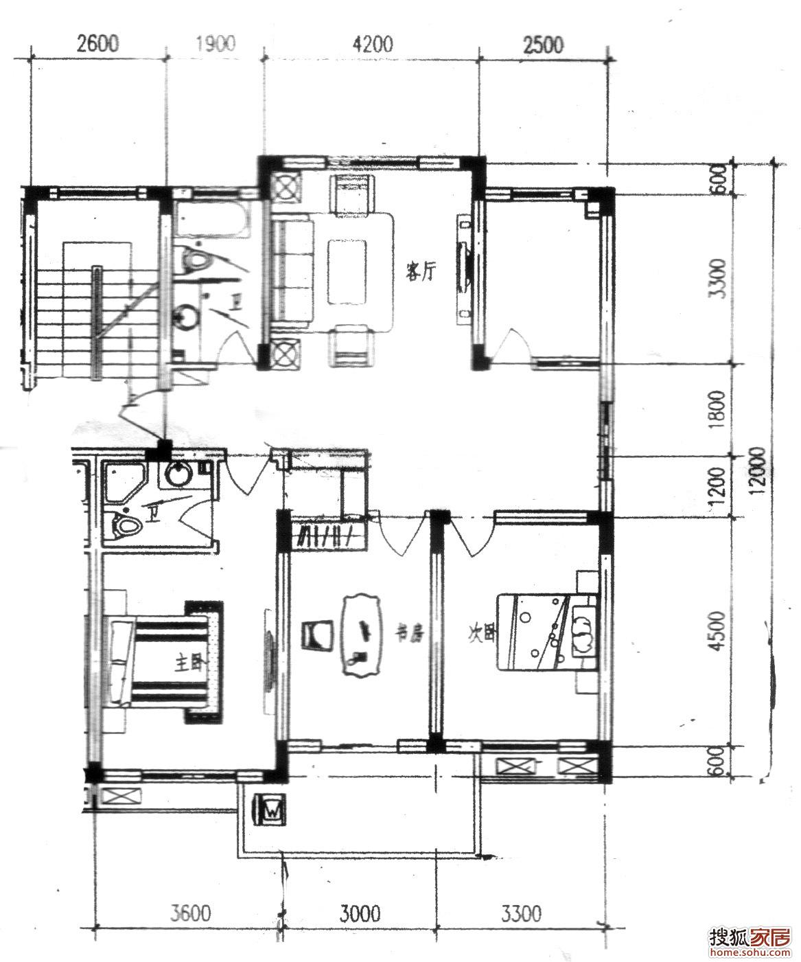 旅馆建筑设计平面图_高分求房屋建筑室内平面图设计软件?-求房屋建筑室内平面图 ...