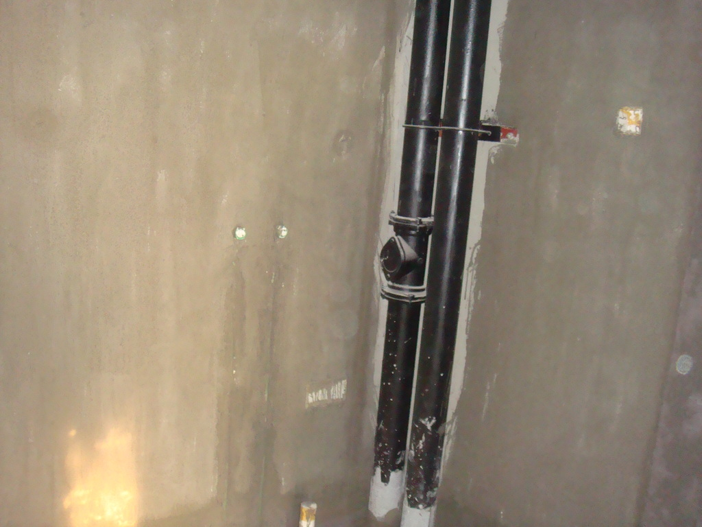 呵呵 西安装修 -虽明白防水怎么去DIY,但我还是选择了让专业工人去高清图片