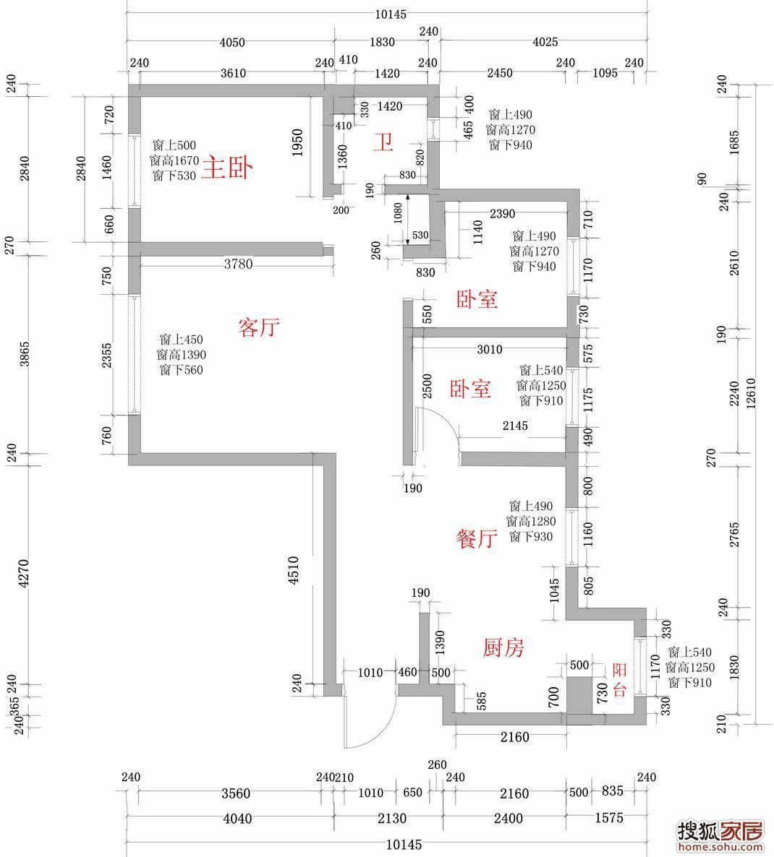 调整大小 尺寸图-装修论坛-搜狐家居网