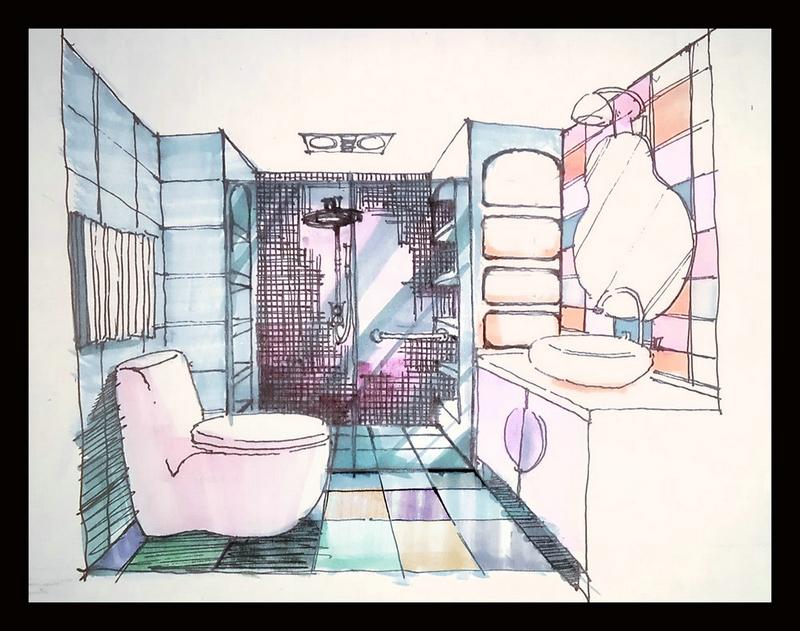 室内手绘图教程