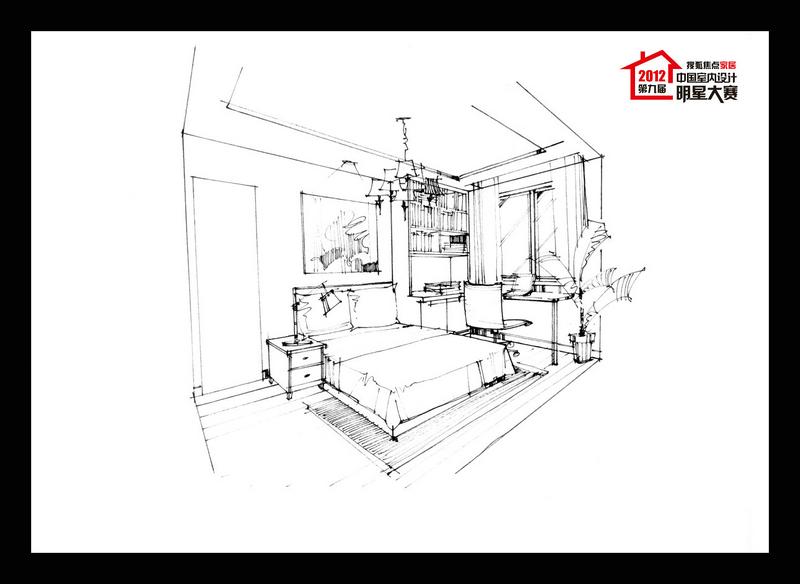 2012-11-27 |2012室内设计师大赛-北京赛区-黑白经典家
