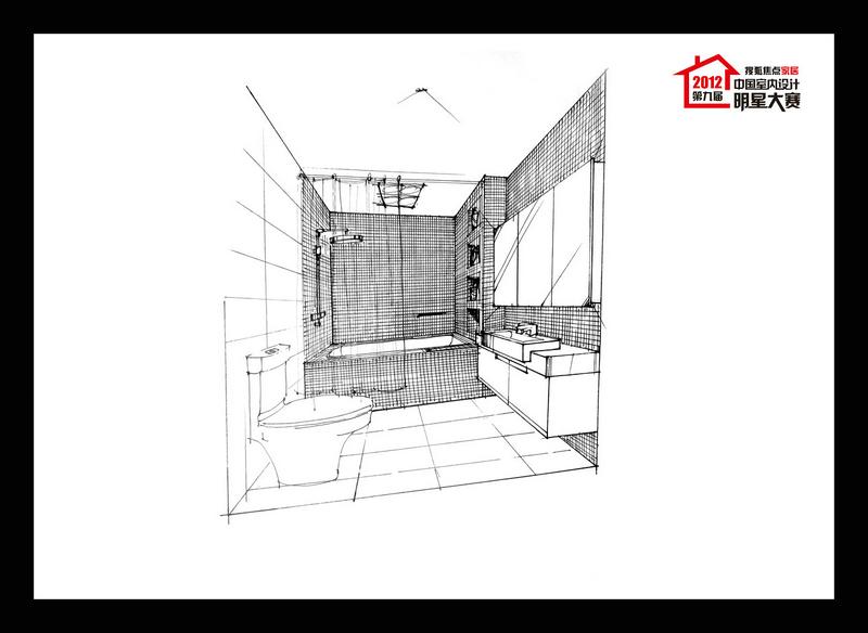 一点斜透视卧室手绘图-卧室墙手绘图案大全-透视卧室手绘图步骤-卧室