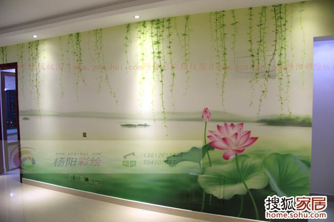 苏州手绘地图|卡通版苏州地图彩绘|企业休息室手绘墙