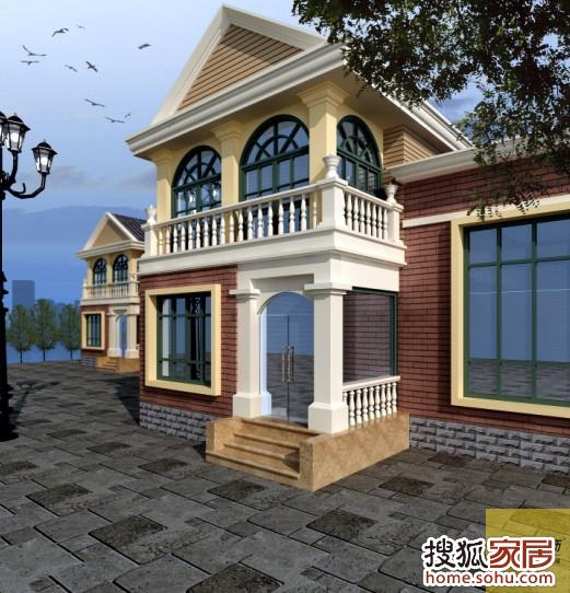 圣晖花园260平米独栋别墅新装饰主义风格 元洲装饰