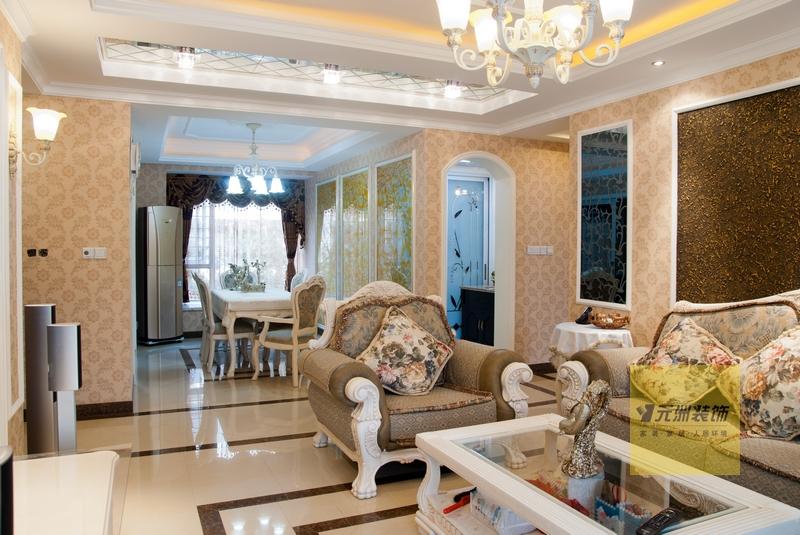 143平米花园洋房低 装饰设计