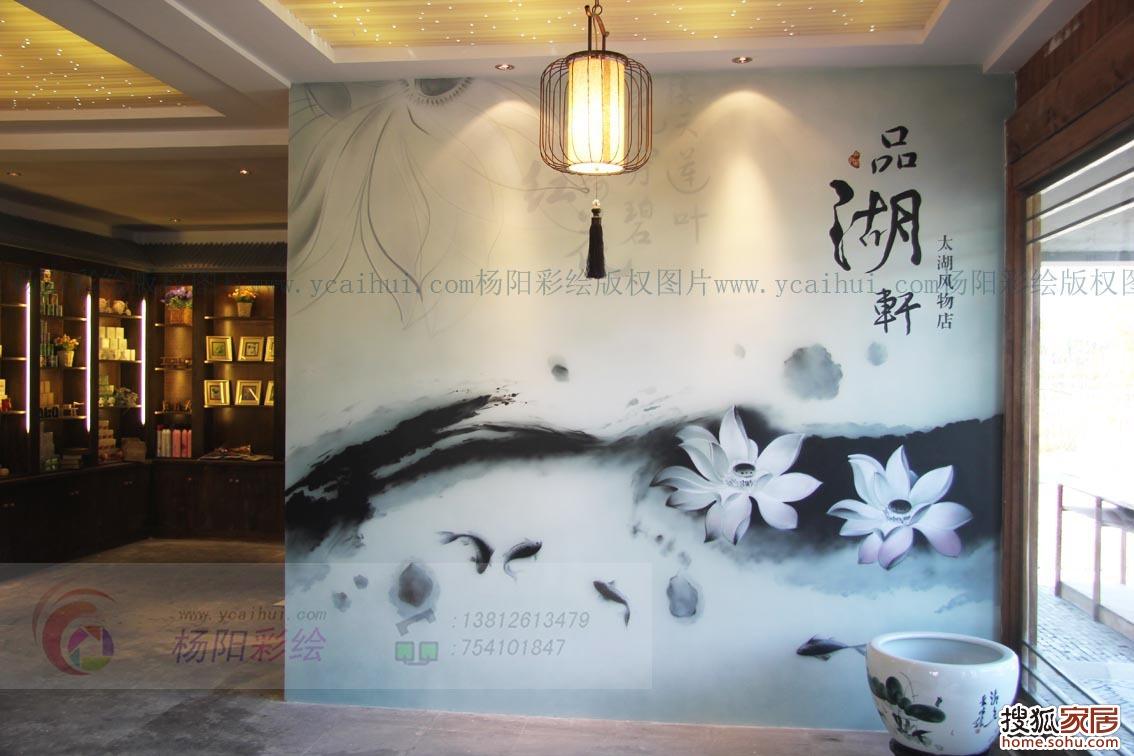 本页主题:苏州手绘墙,苏州墙体彩绘,苏州吴江壁画