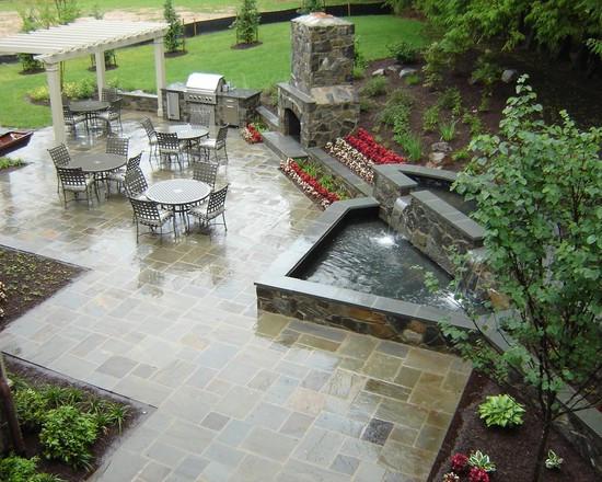 界各国不同风格别墅庭院景观设计美式 黄新华图片