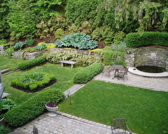 界各国不同风格别墅庭院景观设计美式别墅庭院 法式别墅庭院 风尚设图片