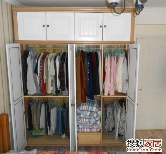图 28 聊聊衣柜的内部格局 装修日记 手机搜狐焦点家居装修网