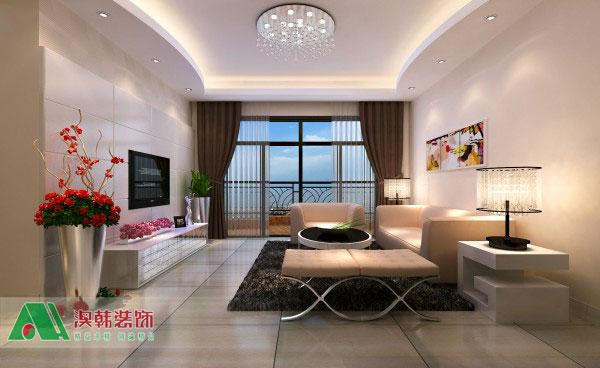 南宁翡翠园样板房,翡翠园装修效果图,翡翠园127平米装修高清图片