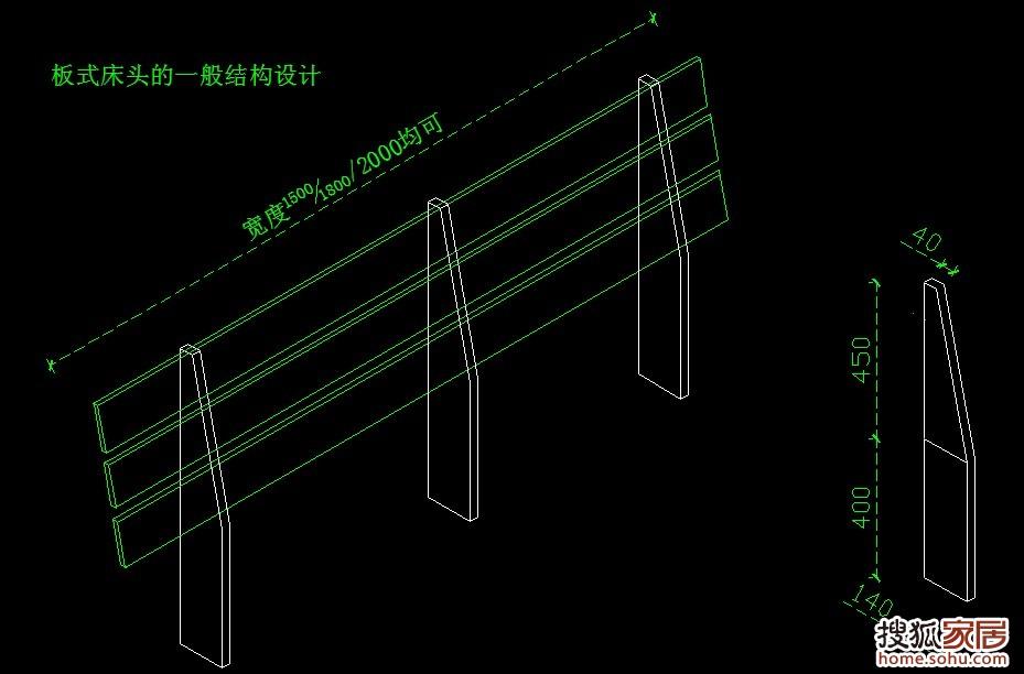 图:板式床头的一般结构设计-沈阳装修-搜狐家居网
