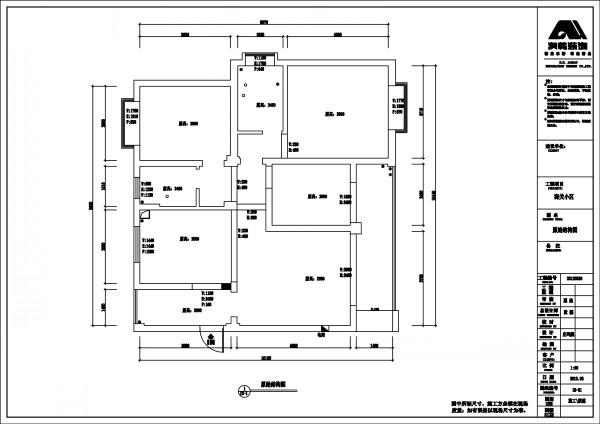 二,南宁海关小区140平米装修:户型图,平面设计图