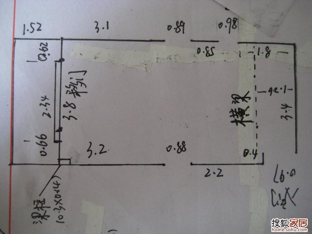 客厅明线电路布置图