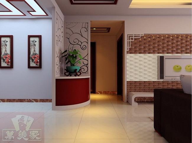 入户玄关现代简约风格装修设计效果图参考高清图片
