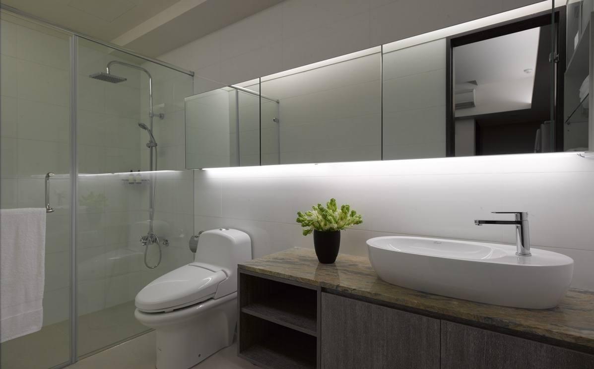 小空间挤出的舒适 小户型洗手间装修效果 陶瓷卫浴论坛论坛 高清图片