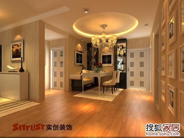 饰 贝多芬公馆90平两居室欧式装修设计高清图片
