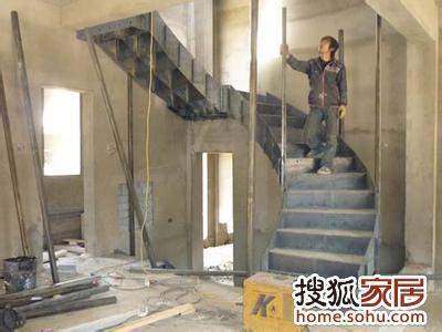 图:北京做楼梯 专业制作钢结构楼梯