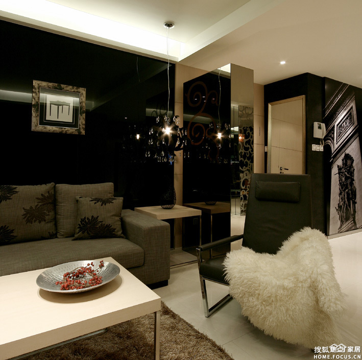 重庆洋房别墅装修案例 现代风格 重庆装修