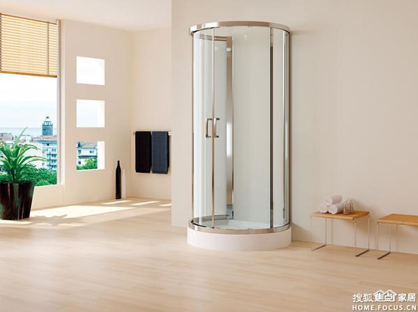 千百度卫浴新淋浴房,简易易洁型,可非标任意定做 高清图片