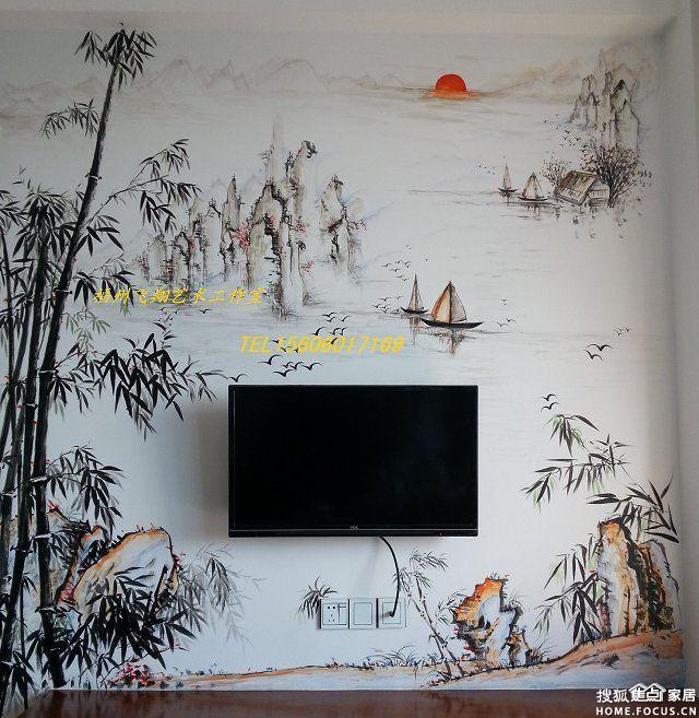 墙绘,充满个性和创意的家居装饰
