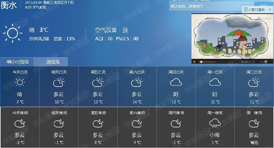 衡水天气预报一周 德州天气预报一周 衡水北站图片