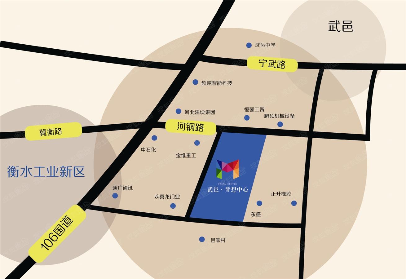 武邑动物园地图