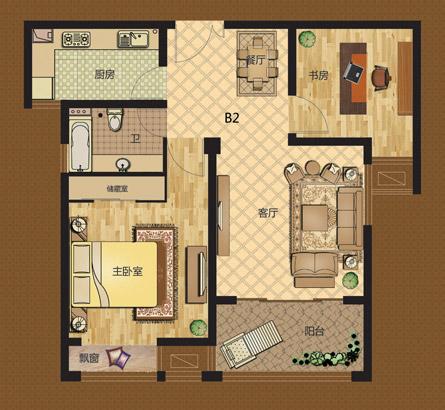 卫衣欹o#�f_两室两厅一卫 86.93㎡