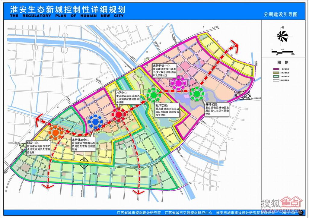 图:淮安生态新城规划图图片