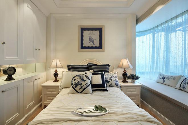 保利梧桐语 88平米3房装修英式田园风格装修设计案例高清图片