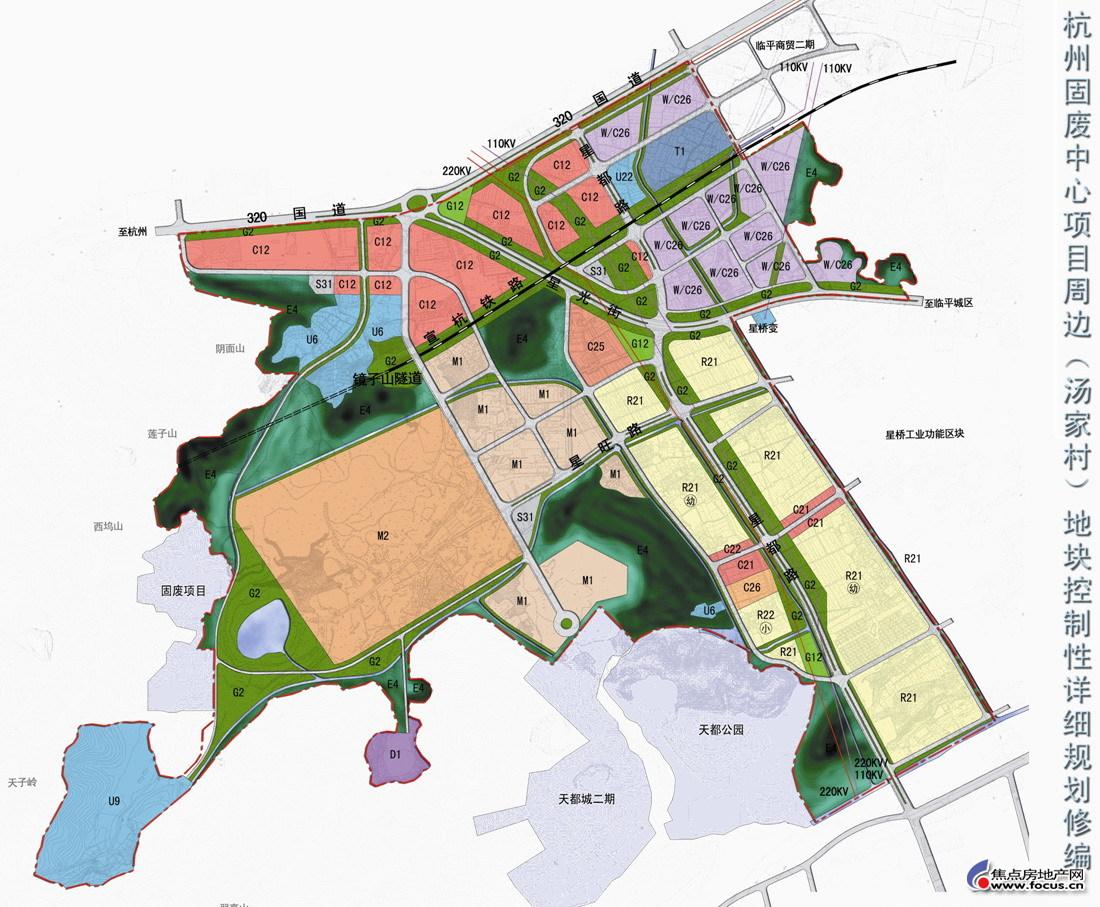 规划_图:星桥地区的规划展示(含垃圾填埋场及公墓殡葬用地的确切位置)