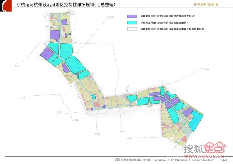 图:最新最全京杭大运河规划图